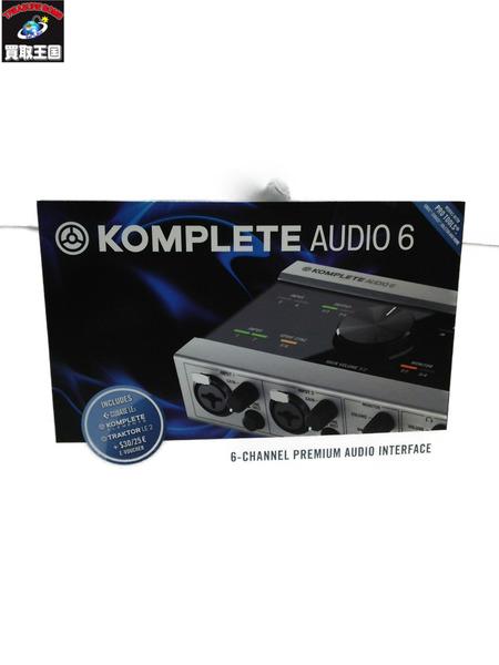 KOMPLETE AUDIO 6 ネイティブインストゥルメン USBオーディ・インターフェイス 【中古】