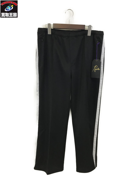 Needles 20SS Side Line Center Seam Pant Bright Poly 黒【中古】[▼]