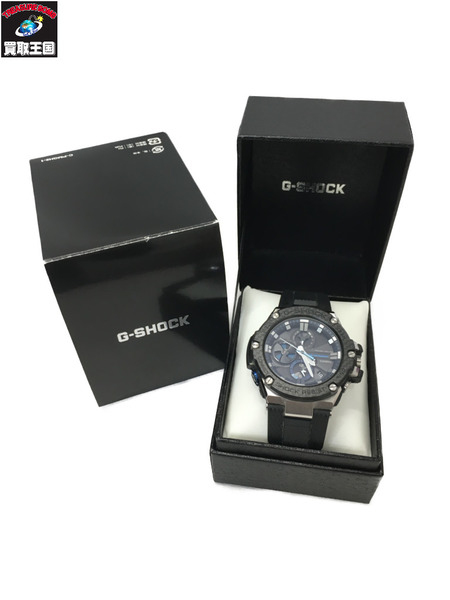 CASIO G-SHOCK GST-B100 G-STEEL Bluetooth 電波ソーラー 腕時計【中古】