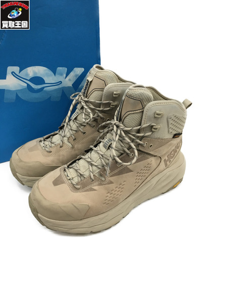 HOKA ONE ONE ホカオネオネ 19SS Sky Kaha Hiking Shoes (28) ベージュ【中古】