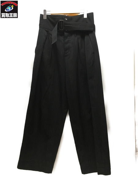 SHAREEF STRIP WIDE PANTS (1) 【中古】[▼]