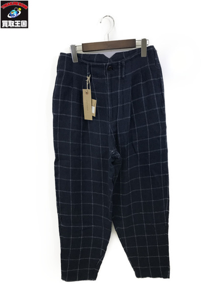 NICHOLAS DALEY TWO PLEAT TROUSER 30 青【中古】[▼]