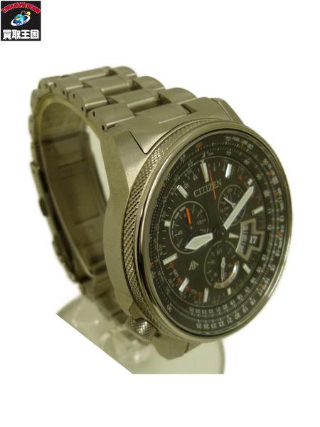 CITIZEN シチズン プロマスター ダイレクトフライト H610-T018670 ソーラー 腕時計 BY0080-57E【中古】
