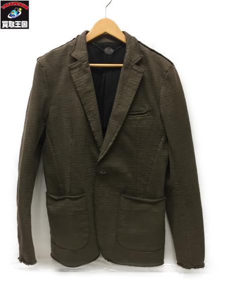 VADEL heavy jersey cut jacket KHK size46【中古】