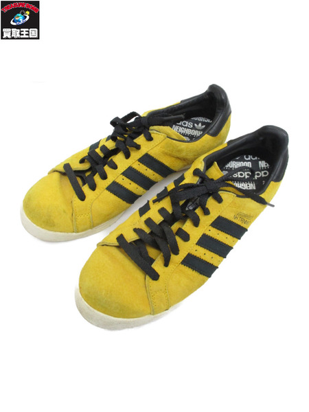 NEIGHBORHOOD×adidas TOURNAMENT BOLD 27.5cm 黄【中古】