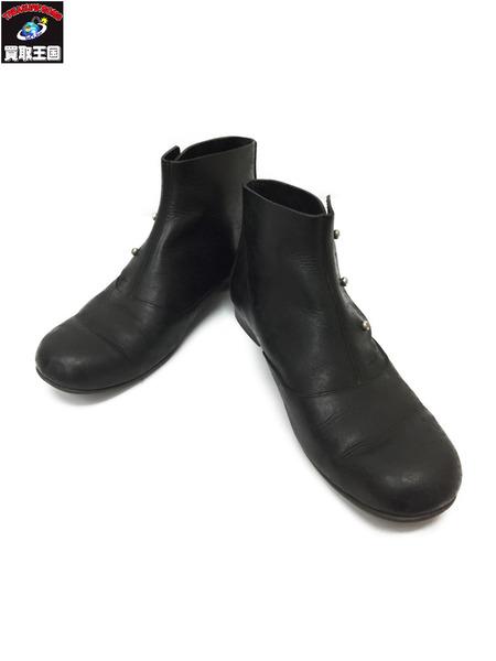 SHOE&SEWN Joseph with leather sole シューアンドソーン ハイカットブーツ BLACK【中古】