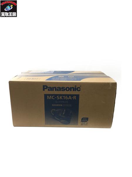 Panasonic サイクロン掃除機 MC-SK16A-R レッドブラック 未開封【中古】