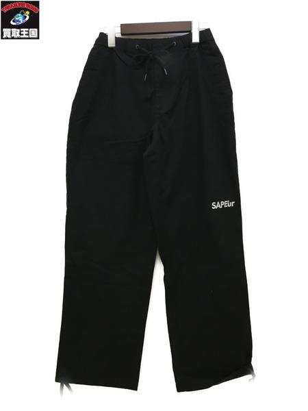 SAPEur/サプール SKATE PANT/スケートパンツ/リップストップ 黒【中古】