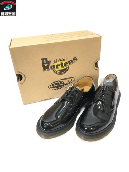 Dr.Martens×BEAMS/patent lamper/ドレスシューズ/UK4 黒 ドクターマーチン ビームス【中古】