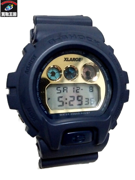 G-SHOCK×XLARGE DW-6900FS G-SHOCK×XLARGE【中古】, FOREST OF THE JEWELRY:b5fa9555 --- officewill.xsrv.jp