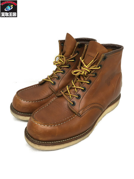 RED WING Classic Work / 6 Moc-toe(8E)ブラウン【中古】