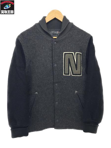 NEIGHBORHOOD ネイバーフッド Technical Apparel Nロゴ ウールスタジャン S【中古】