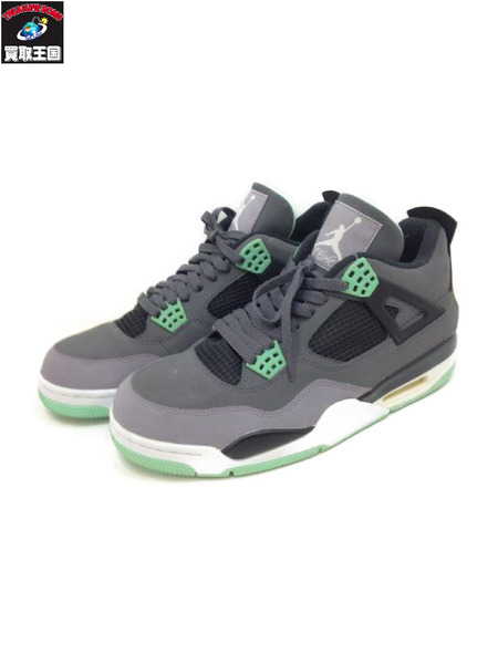 NIKE AIR JORDAN 4 RETRO (29.0cm) GRY 308497-033【中古】