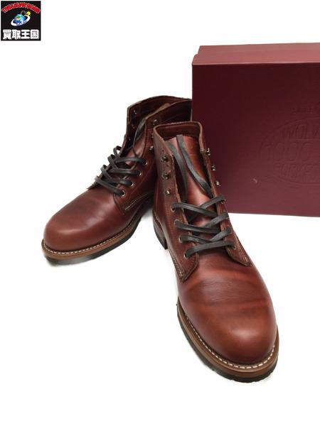 WOLVERINE EVANS ウルヴァリン ブーツ 9 茶【中古】