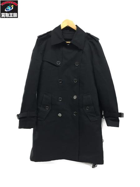 BURBERRY BLACK LABEL ライナー付きコート/黒【中古】