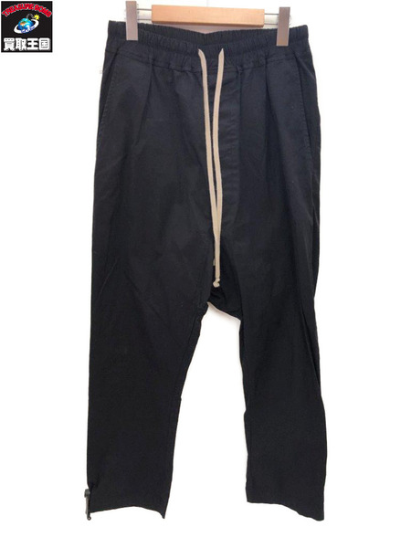 16SS Rick Owens DRAWSTRING LONG (46) サルエルパンツ BLK【中古】