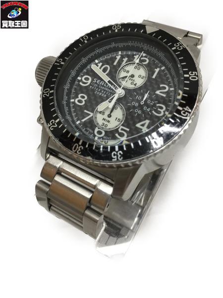 SEALANE 0S60ーSE28 クロノグラフ クォーツウォッチ シーレーン 腕時計【中古】