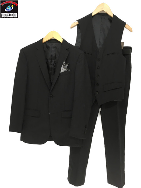 BURBERRY BLACK LABEL 3P スーツ セットアップ【中古】