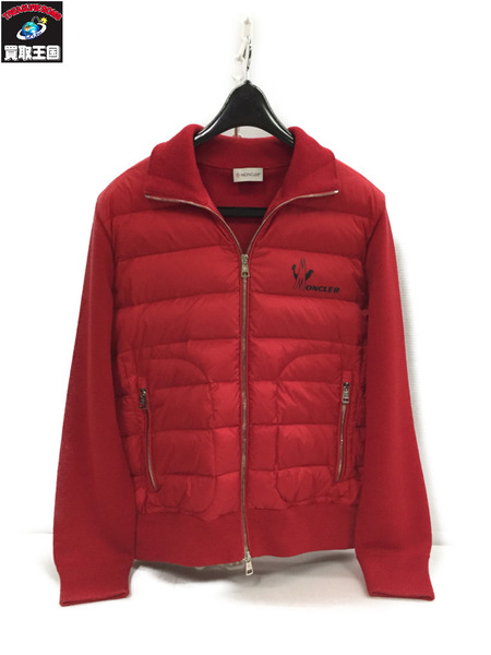 MONCLER MAGLIONE TRICOT CARDIGAN (M) A9071【中古】[▼]