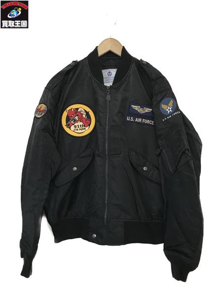 TED COMPANY L-2Bジャケット(44)BLK【中古】