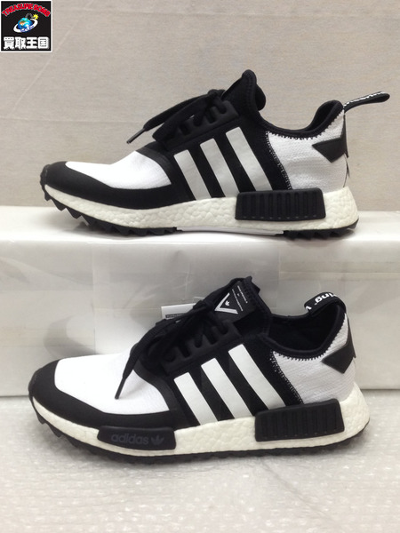 adidas WHITE MOUNTAINEERING NMD TRAIL PK スニーカー (28.0) 【中古】