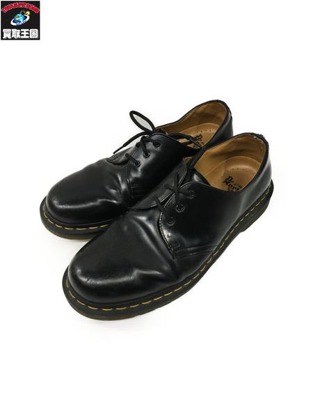 Dr.Martens 3ホール シューズ (UK9) ブラック【中古】
