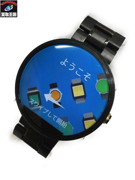 moto360 スマートウォッチ 背面割れ・画面キズあり 腕時計【中古】[▼]