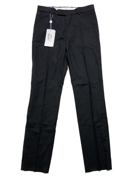 Maison Margiela 14/20SS/slim-fit tailored trousers/44/ブラック【中古】[▼]