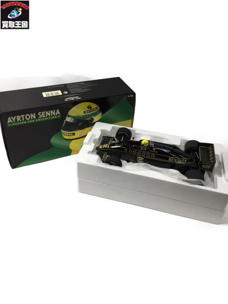 PMA 1/18 アイルトン・セナ ロータスルノー 98T 1986 レーシング カー コレクション【中古】