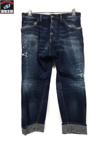 DSQUARED2 14SS/WORKWEAR JEANS/リメイク加工(50)【中古】[▼]