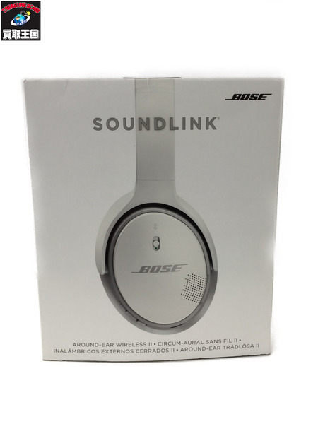 BOSE SoundLink around-ear ワイヤレスヘッドホン【中古】[▼]