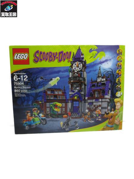 LEGO スクービー・ドゥー 75904 ミステリーマンション【中古】