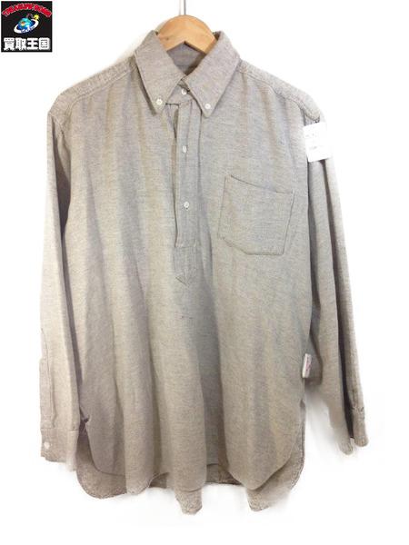 1940s~ Metropolitan Pullover Wool Shirts Grey チンスト付【中古】