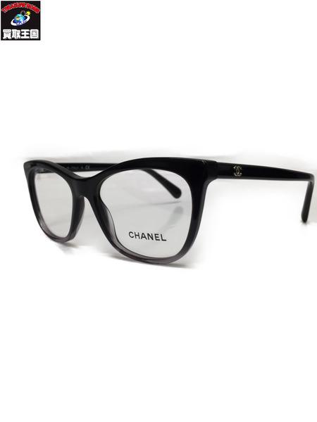 CHANEL 3314 1561 アイウェア 52□16 140 シャネル ココマーク 眼鏡 伊達眼鏡 メガネ フレーム【中古】