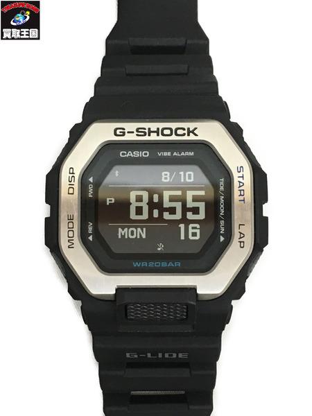 G-SHOCK/ジーショック/GBX-100 G-LIDE/デジタル/Bluetooth搭載/腕時計/黒/銀/クォーツ【中古】