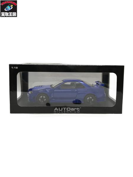 1/18 AUTOart ニスモ R34 GT-R Z-tune【中古】