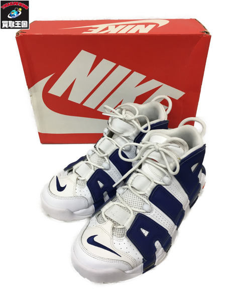 NIKE AIR MORE UPTEMPO 96 KNICKS(26cm) 921948-101【中古】