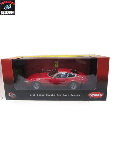 1/18 Ferrari collection フェラーリ 365GTB/4 デイトナ 69 RED【中古】[▼]