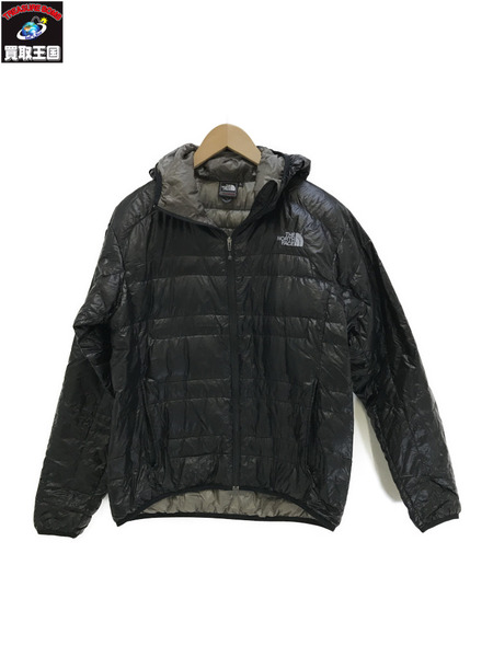 THE NORTH FACE ノースフェイス LIGHT HEAT HOODIE ND18971 黒【中古】