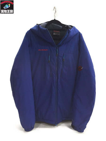 Mammut FLEXLIGHT INSULATION HOODY 1010-22960 M 青【中古】