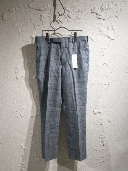 LITTLEBIG/20SS/Check Slim Trousers/2/GRY【中古】