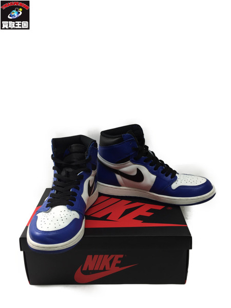 NIKE AIR JORDAN1 RETRO HIGH OG GAME ROYAL Size27.5cm【中古】