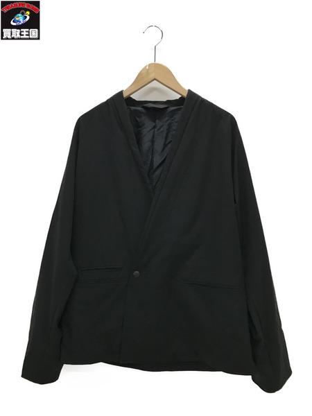ESSAY エッセー 18ssノーカラージャケット (M)黒【中古】[▼]
