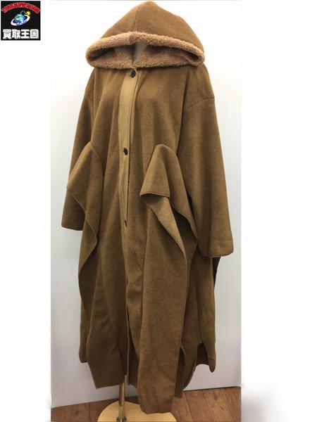ユニオニーニ 18AW long fleece cost (M) 茶【中古】[▼]