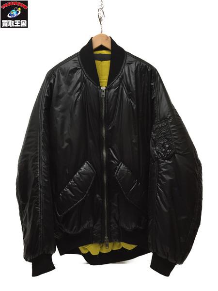 HAIDER ACKERMANN 18AW Oversized Bomber Jacket BLK 46 【中古】