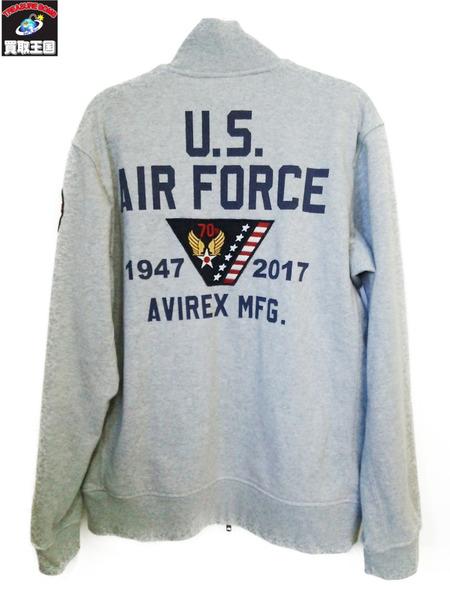 AVIREX アメリカ空軍70周年記念 サーモライト スタンドジップジャケット XLGLVpUzjqSM