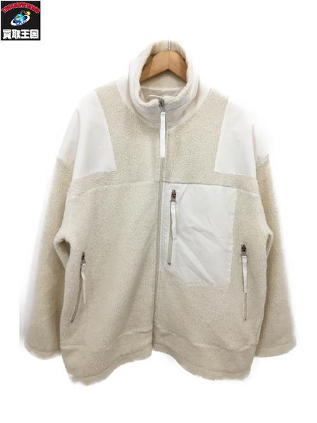 MM?/エムエムシックス MAISON MARGIELA/メゾンマルジェラ 19SS ボアジャケット (XS) ホワイト【中古】