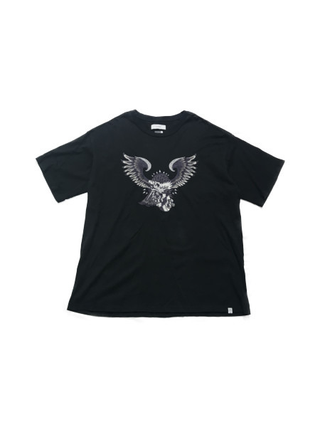 FACETASM EAGLE BIG TEE BLK size:00【中古】