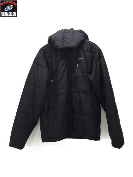 patagonia パフジャケット 黒 (S)【中古】