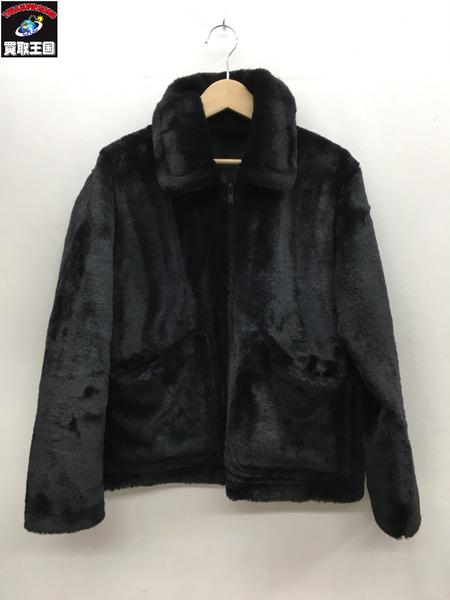 HYSTERIC GLAMOUR リバーシブルブルゾン (S) 黒 02183AB16【中古】[▼]